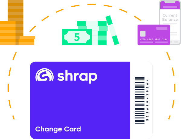 Shrap supports the continued use of cash by making it more efficient and convenient.