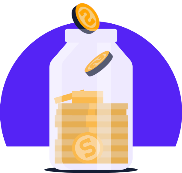 Shrap is a virtual coin jar.