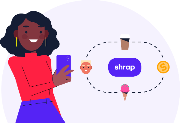 Use Shrap for fee-free payments